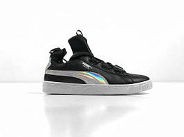 Женские кроссовки Puma Classic High Black, Копия