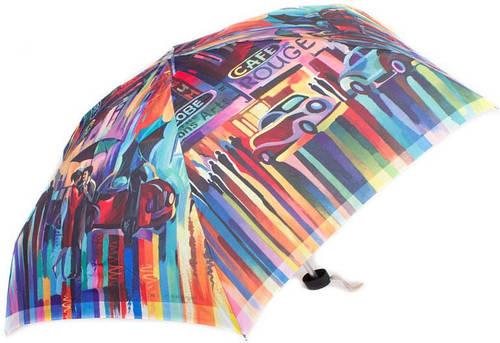 Зонт женский облегченный компактный, механика ZEST (ЗЕСТ) Z55516-9