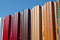 Забор металлический штакетный 1500х2000 мм