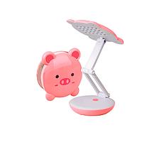 Настольная лампа LED 2W розовая с АКБ 4V 800MA 4 часа