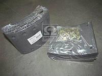 Накладка тормозная (комплект на ось) 420х180 1-й рем. BPW, KASSBOHRER, SAF (RIDER) (арт. RD 19032Rem1), AEHZX
