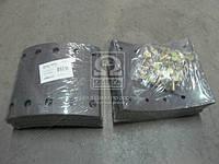 Накладка тормозная (комплект на ось) 420х180 2-й рем. BPW, KASSBOHRER, SAF (RIDER) (арт. RD 19032Rem2), AEHZX