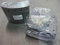 Накладка тормозная (комплект на ось) 420х180 3-й рем. BPW, KASSBOHRER, SAF (RIDER) (арт. RD 19032Rem3), AEHZX