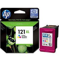 Картридж струйный HP для DJ D2563/F4283 HP №121XL Color  повышенной емкости
