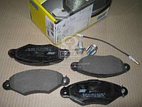 Колодки дискового тормоза (производство Jurid), ACHZX