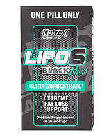 Nutrex Lipo 6 Black Hers Ultra concentrate 60 caps