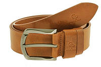 Кожаный ремень Quadro коньяк Grande Pelle 434508800