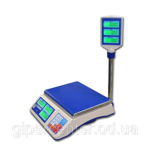 Торговые электронные весы со стойкой ВТНЕ/1-6Т2К до 6 кг, точность 2 г - GIPERCENTER Odessa в Одессе