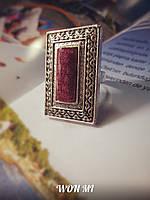 8 марта Женское кольцо модное стильное ретро винтаж серебро