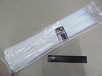 Хомут пластиковый 4.5х400мм. белый 100шт./уп.  (арт. DK22-4.5х400WT), AAHZX