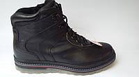 Зимние кожаные Мужские Ботинки на меху Mida