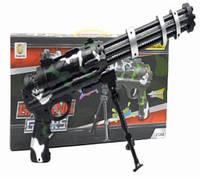 Детский игрушечный пулемет, на батар., арт. 2128А