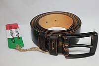 Итальянский мужской кожаный ремень