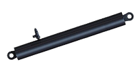Гидроцилиндр подъема кузова КАМАЗ 4-х штоковый 6520