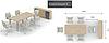 Стол конференционный Квест K1.08.10 Береза (MConcept-ТМ), фото 6