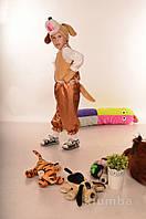 Карнавальный костюм Собака,Щенок мех,велюр,атлас, фото 1