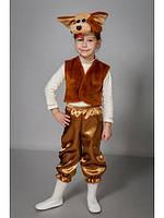 Карнавальный костюм Собака,Щенок мех,велюр,атлас