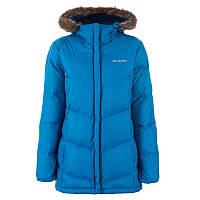 Женская пуховая куртка Columbia SHELLDRAKE POINT™ DOWN JACKET ярко-синяя  WL0098 402 373dea2f8b1