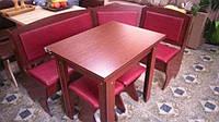 Кухонный уголок Император с раскладным столом и табуретами. Честная цена!