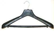 Тремпеля пластиковые с металлическим крючком 52-54 размер, №05 с перекладиной