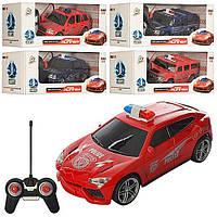 Детские Радиоуправляемые машинки Машина Полиция р/у3700-31G-32G-33G - на батар., 4вида, 2цвета