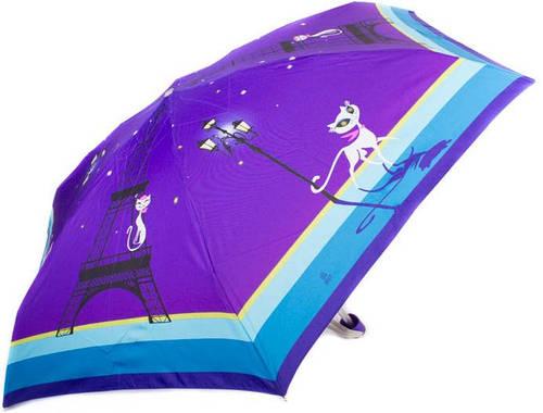 Зонт женский облегченный компактный, механика ZEST (ЗЕСТ) Z55516-10