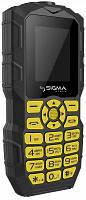 Телефон Sigma mobile X-treme IO68 Bobber Dual Sim (Black/Yellow)