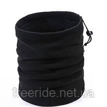 Зимний бафф флис шарф-труба (#585) однослойный, фото 2