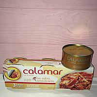 Кальмар в американском кисло-сладком соусе Hacendado