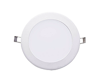 Светильник светодиодный Biom PL-R24 24Вт круглый 3000К, фото 1