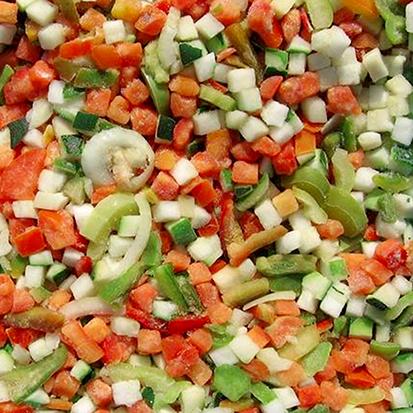 Заморожені овочеві суміші, 9 ти компонентна суміш 4 x 2,5 кг BIMIZ , фото 2