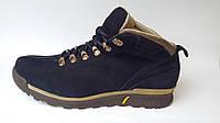 Мужские Зимние Кожаные Ботинки На Меху Mida