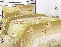 Комплект постельного белья полуторный бязь -40-0492 Dark beige