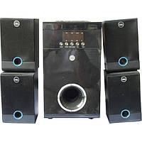 Акустическая система 5.1 RZ 5813 Качественная mp3 система 5 в 1, с FM радио