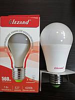 Лампа светодиодная LED 7W E27 4200К Lezard
