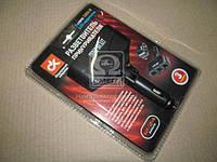 Разветвитель прикуривателя, 3в1, LED индикатор,  WF-004