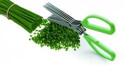 Ножницы кухонные  для зелени с 5 лезвиями