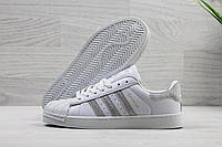 Кроссовки женские Adidas Superstar Код SD-3906 Белые