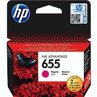 Картридж струйный HP для DJ Ink Advantage 3525/4615/4625 HP 655 Magenta