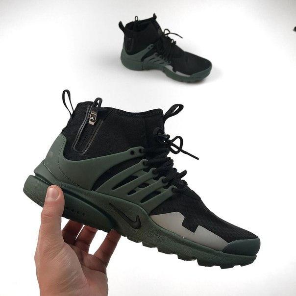 Мужские кроссовки Nike Presto Mid SP , Копия