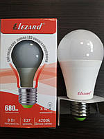 Лампа светодиодная LED 9W E27 4200К Lezard
