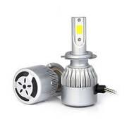 Светодиодные LED (лед) лампы H7  (8000Lm, 6000 К, 72W)
