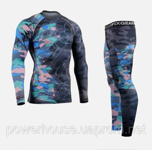 351715496518 Комплект Рашгард Fixgear и компрессионные штаны - купить по лучшей ...