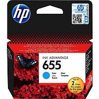 Картридж струйный HP для DJ Ink Advantage 3525/4615/4625 HP 655 Cyan
