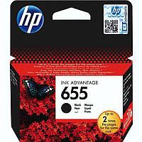 Картридж струйный HP для DJ Ink Advantage 3525/4615/4625 HP 655 Black