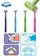 Paro Superbrush Зубная щетка трехсторонняя, фото 2