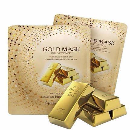 Тканевая маска с золотом ESFOLIO GOLD ESSENCE MASK, фото 2