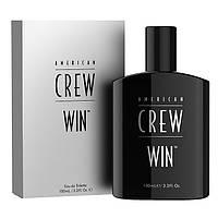 Средства для бритья American Crew Туалетная вода American Crew Crew Win 100 мл