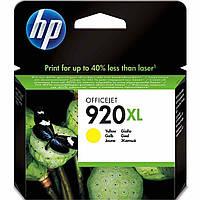 Картридж струйный HP для Officejet 6500 HP 920XL Yellow повышенной емкости