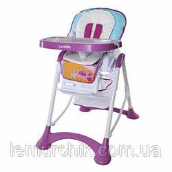 Стульчик для кормления Carrello Chef crl-10001 фиолетовый